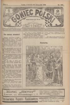 Goniec Polski.R.2, nr 557 (22 listopada 1908)