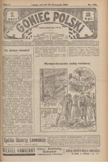 Goniec Polski.R.2, nr 558 (23 listopada 1908)