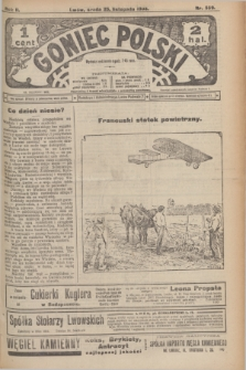 Goniec Polski.R.2, nr 559 (25 listopada 1908)