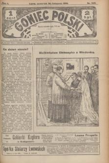 Goniec Polski.R.2, nr 560 (26 listopada 1908)