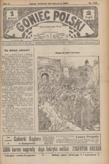 Goniec Polski.R.2, nr 563 (29 listopada 1908)