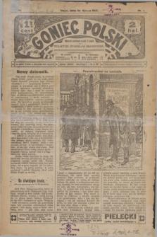 Goniec Polski.R.1, nr 1 (16 stycznia 1907)