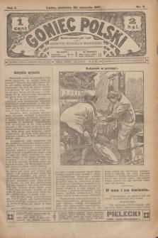 Goniec Polski.R.1, nr 5 (20 stycznia 1907)