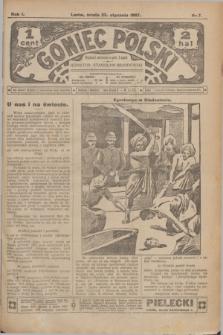 Goniec Polski.R.1, nr 7 (23 stycznia 1907)