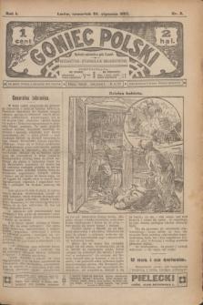 Goniec Polski.R.1, nr 8 (24 stycznia 1907)