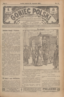 Goniec Polski.R.1, nr 9 (25 stycznia 1907)