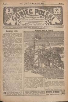 Goniec Polski.R.1, nr 11 (27 stycznia 1907)