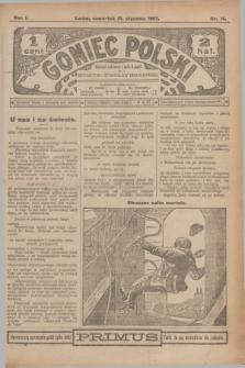 Goniec Polski.R.1, nr 14 (31 stycznia 1907)