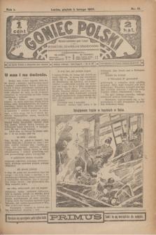 Goniec Polski.R.1, nr 15 (1 lutego 1907)