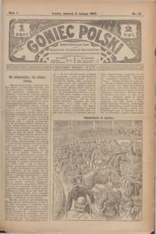 Goniec Polski.R.1, nr 17 (5 lutego 1907)