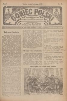 Goniec Polski.R.1, nr 18 (6 lutego 1907)