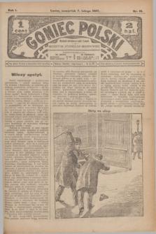 Goniec Polski.R.1, nr 19 (7 lutego 1907)