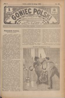 Goniec Polski.R.1, nr 20 (8 lutego 1907)