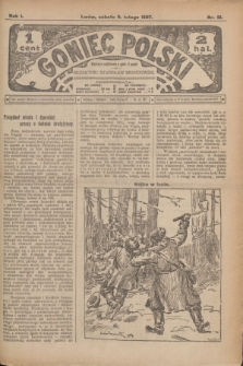 Goniec Polski.R.1, nr 21 (9 lutego 1907)