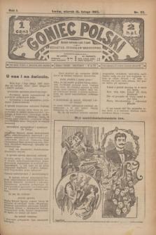 Goniec Polski.R.1, nr 23 (12 lutego 1907)