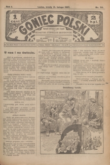 Goniec Polski.R.1, nr 24 (13 lutego 1907)