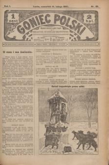 Goniec Polski.R.1, nr 25 (14 lutego 1907)