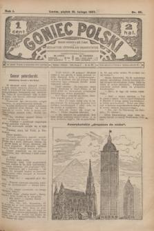 Goniec Polski.R.1, nr 26 (15 lutego 1907)