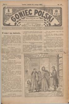 Goniec Polski.R.1, nr 27 (16 lutego 1907)