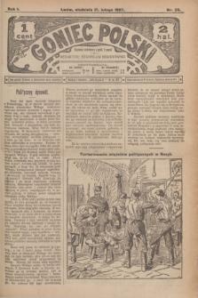 Goniec Polski.R.1, nr 28 (17 lutego 1907)