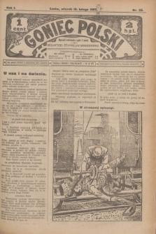 Goniec Polski.R.1, nr 29 (19 lutego 1907)