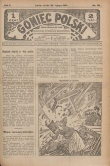 Goniec Polski.R.1, nr 30 (20 lutego 1907)