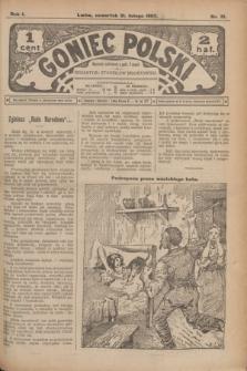 Goniec Polski.R.1, nr 31 (21 lutego 1907)