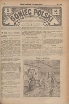Goniec Polski.R.1, nr 34 (24 lutego 1907)