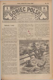Goniec Polski.R.1, nr 35 (26 lutego 1907)