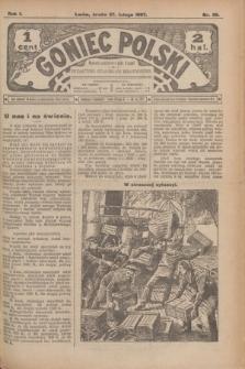 Goniec Polski.R.1, nr 36 (27 lutego 1907)