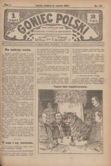 Goniec Polski.R.1, nr 39 (2 marca 1907)