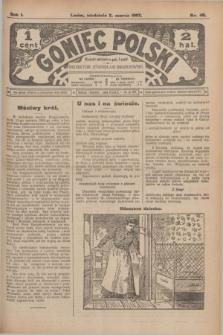 Goniec Polski.R.1, nr 40 (3 marca 1907)