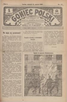Goniec Polski.R.1, nr 47 (12 marca 1907)