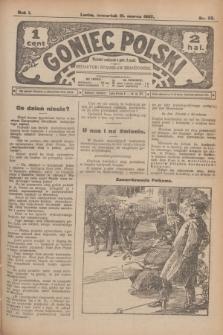 Goniec Polski.R.1, nr 55 (21 marca 1907)