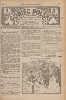 Goniec Polski.R.1, nr 57 (23 marca 1907)