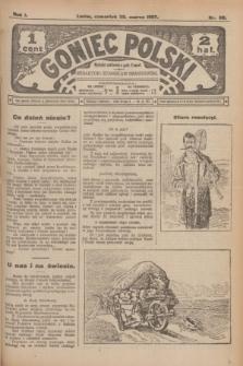 Goniec Polski.R.1, nr 60 (28 marca 1907)