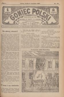 Goniec Polski.R.1, nr 64 (3 kwietnia 1907)
