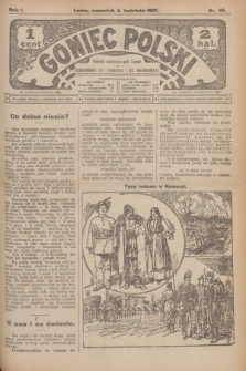 Goniec Polski.R.1, nr 65 (4 kwietnia 1907)