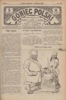 Goniec Polski.R.1, nr 68 (7 kwietnia 1907)