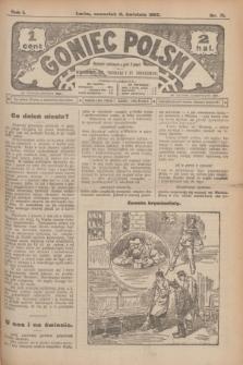 Goniec Polski.R.1, nr 71 (11 kwietnia 1907) + dod.