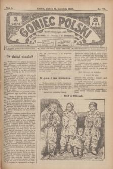 Goniec Polski.R.1, nr 72 (12 kwietnia 1907)