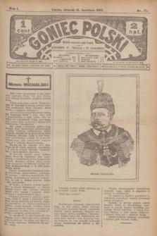 Goniec Polski.R.1, nr 75 (16 kwietnia 1907)