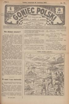 Goniec Polski.R.1, nr 77 (18 kwietnia 1907)