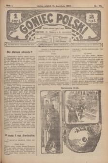 Goniec Polski.R.1, nr 78 (19 kwietnia 1907)