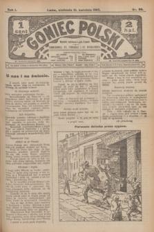 Goniec Polski.R.1, nr 80 (21 kwietnia 1907)