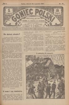 Goniec Polski.R.1, nr 81 (23 kwietnia 1907)