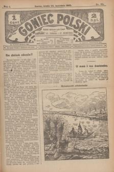 Goniec Polski.R.1, nr 82 (24 kwietnia 1907)