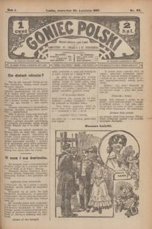 Goniec Polski.R.1, nr 83 (25 kwietnia 1907)