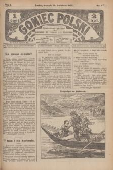 Goniec Polski.R.1, nr 87 (30 kwietnia 1907)