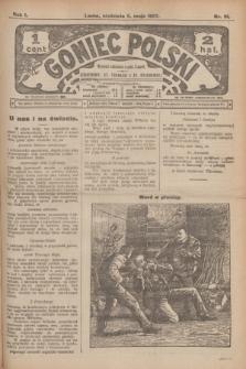 Goniec Polski.R.1, nr 91 (5 maja 1907)